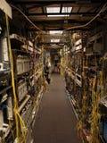 Telekommunikationsraum stockbild