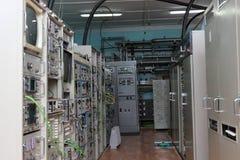 Telekommunikationssite lizenzfreie stockbilder