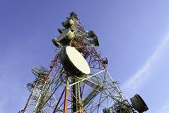 Telekommunikationsturm Lizenzfreies Stockbild