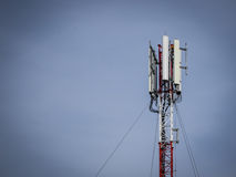 Telekommunikationsturm Stockbild