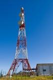 telekommunikationtorn arkivbild