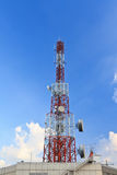 Telekommunikationtorn Royaltyfria Bilder