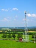 Telekommunikationtorn i liggande Royaltyfri Fotografi
