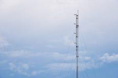 Telekomstolpe Royaltyfri Bild