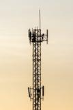 Telekomtorn Royaltyfria Foton