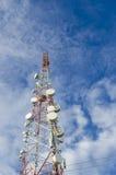 Telekomtorn Dar es Salaam Arkivbilder