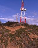 Telekomunikaci antena Zdjęcie Stock