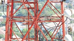 Telekomunikaci basztowy zbliżenie Fotografia Royalty Free