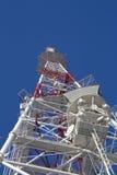 telekomunikaci masztowy wierza Zdjęcia Royalty Free
