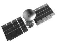 Telekomunikaci satelita odizolowywa, ścinek ścieżka Zdjęcia Stock