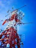 telekomunikaci wierza obraz royalty free
