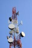 telekomunikaci wierza Fotografia Royalty Free