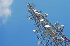 telekomunikaci wierza Fotografia Stock