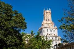 Telekomunikacj budować, Hawański, Kuba Obrazy Stock