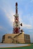 telekomunikacj wierza Zdjęcie Stock