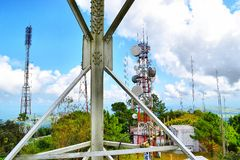 telekomunikacja Obrazy Stock