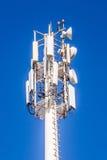 Telekomunikacja maszt zdjęcie royalty free