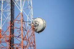 Telekomunikacja maszt obrazy royalty free