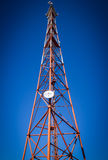 Telekomunikacja masztowy TV Obrazy Royalty Free