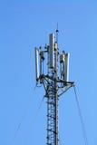 Telekomunikacja słup Zdjęcia Royalty Free