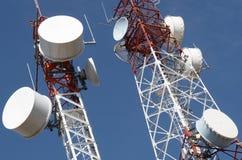 Telekomunikacje górują Zdjęcia Royalty Free