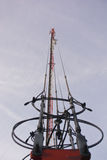 Telekomunikacje Górują Obraz Stock