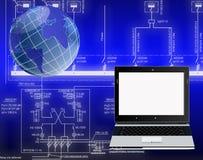 telekomunikacyjne nowe technologie ilustracja wektor
