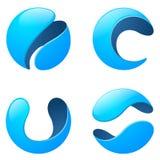 Telekomunikacyjny logo Fotografia Royalty Free