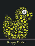 Telemóvel amarelo Fotos de Stock