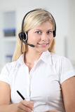 Telemarketer Stock Photography