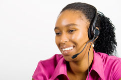 Telemarketer Stock Images
