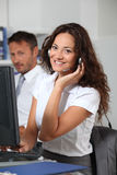 Telemarketing Royalty Free Stock Images