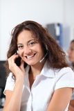 Telemarketing Royalty Free Stock Photography