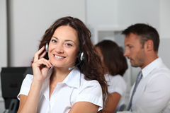 Telemarketing Stock Photography
