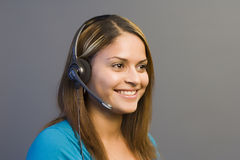 Telemarketing Royaltyfri Foto