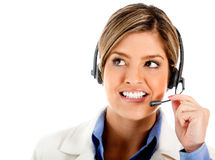 Telemarketing agent Stock Image