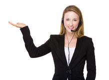 Telemarketing officer Stock Photos