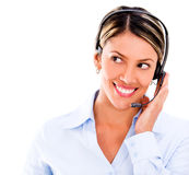 Telemarketing operator Stock Images
