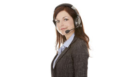 Telemarketing person Royalty Free Stock Images
