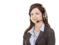 Telemarketing person Stock Photos