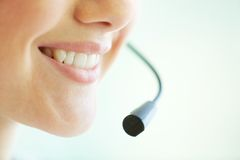 Telemarketing Royalty Free Stock Photo