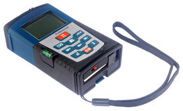Telemetro del laser Fotografia Stock