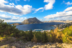 Telendos, île de Kalymnos Photo libre de droits