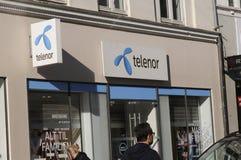 TELENOR dostawca internetu Zdjęcia Stock