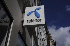 TELENOR dostawca internetu Zdjęcie Royalty Free
