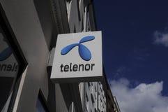 TELENOR dostawca internetu Obraz Stock