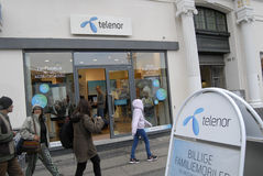 TELENOR AND TELIA CAN NOT MERAGED Stock Photo