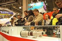 Teleobjective lens Royalty Free Stock Image