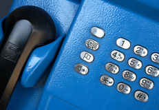 Telephone. Box royalty free stock photo