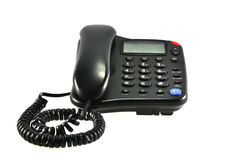 Telephone. Digital telephone with display screen Stock Images